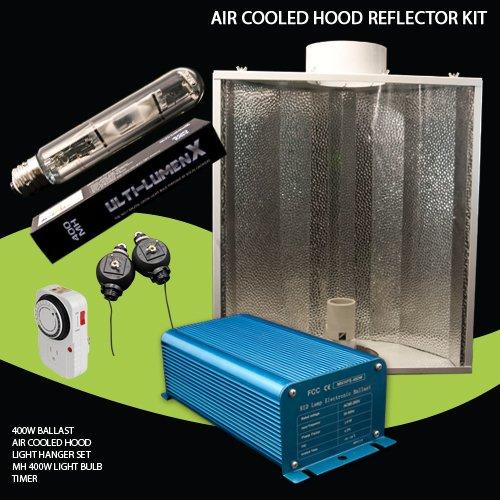 400w Hps/mh High Pressure Sodium Metal Halide Electronic Digital Air Cool Grow Lights Grow Lights System (120v/240v)