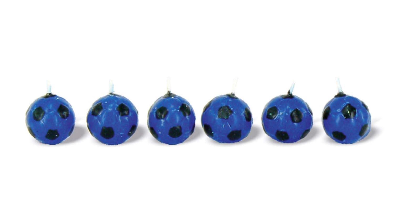BUYLLOON HOME - Velas de té, diseño de balón de fútbol, Color ...