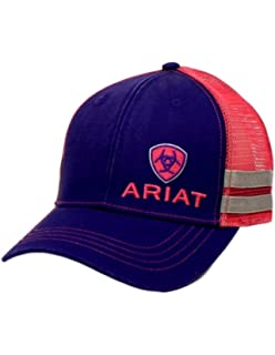 Ariat Women s Offset Logo Stripe Mesh Snap Cap. Ariat Western Hat Mens  Baseball ... 5414f57716df