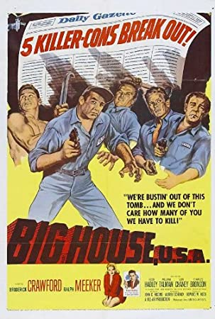 Big House Usa 11x17 Inch 28 X 44 Cm Movie Poster Amazoncouk