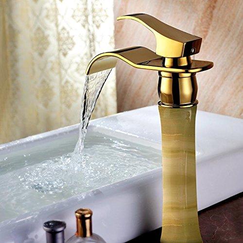 facai168 robinet de salle de bain en cascade de cuivre en. Black Bedroom Furniture Sets. Home Design Ideas