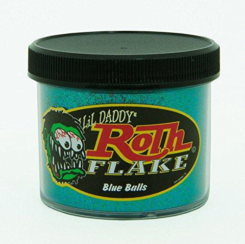 Lil' Daddy Roth Metal Flake Standard Series Blue Balls 2oz