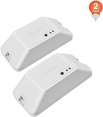 Nouveau sonoff Mini WiFi Commutateur Intelligent À faire soi-même voix APP Contrôle à Distance Pour Android IOS