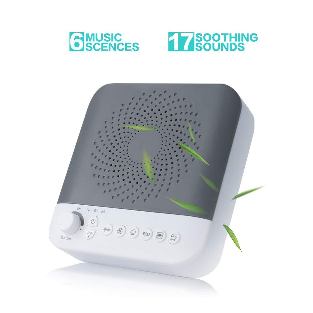 Amazon.com: Máquina de ruido blanca para dormir, máquina de ...