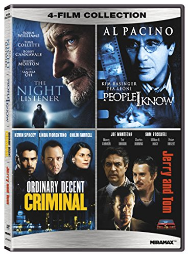 Classic Action: The Night Listener/ People I Know/ Ordinary Decent Criminal/ Jerry and Tom - Quadruple Feature [DVD]