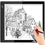 A4 Light Box, Ultra-Thin Portable USB Powered LED Artcraft Tracer Light Pad for Artists,Drawing, Sketching, Animation