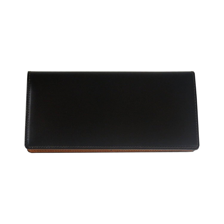(コードバン)CORDOVAN 日本製 長財布 小銭入れなし/ly1000 B01AL93DXKダークブラウン