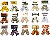 Double Edge Razor Blade Sample Pack (2x each)
