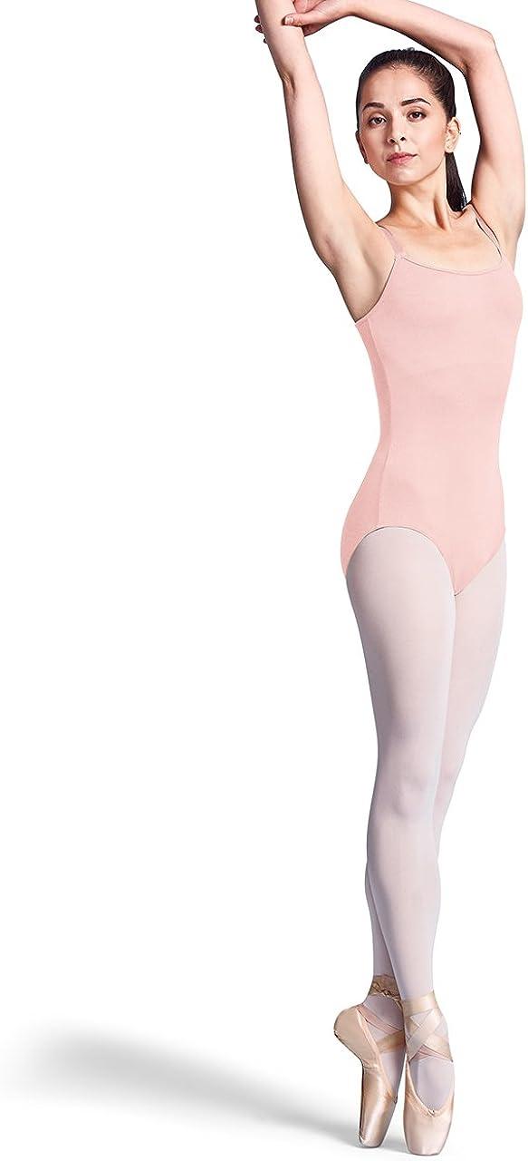 Bloch Dance Womens Zena Adjustable Strap Camisole Leotard W//Bra
