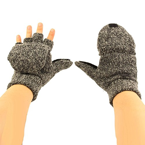 Thinsulate Thick Knitted Mitten Gloves product image