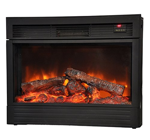 HomCom 1500W Free Standing Fireplace