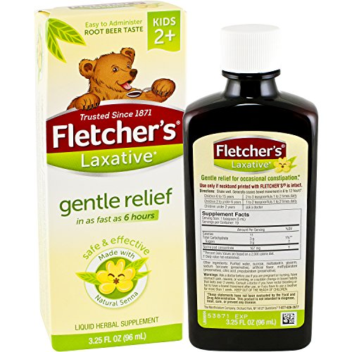 Fletcher's Laxative, Root Beer, 3.25 Ounce