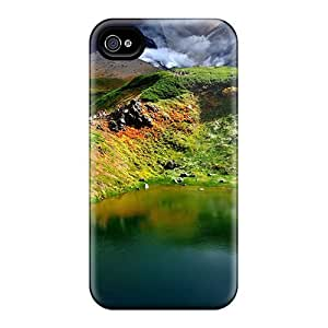Defender Cases With Nice Appearance (lake In China) For Case Iphone 4/4S Cover
