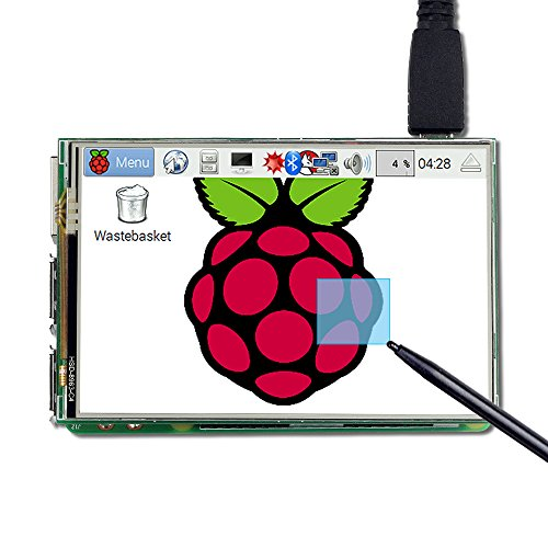 UCTRONICS 3.5 Inch TFT LCD Display SPI with Touch Screen, Touch Pen for Raspberry Pi 3 B+, 3 Mode B,Pi 2 Model B, Pi Zero, Pi B+ by UCTRONICS (Image #7)
