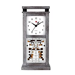 Bulova Frank Lloyd Wright B4835 WATERLILIES Bluetooth Table Clock