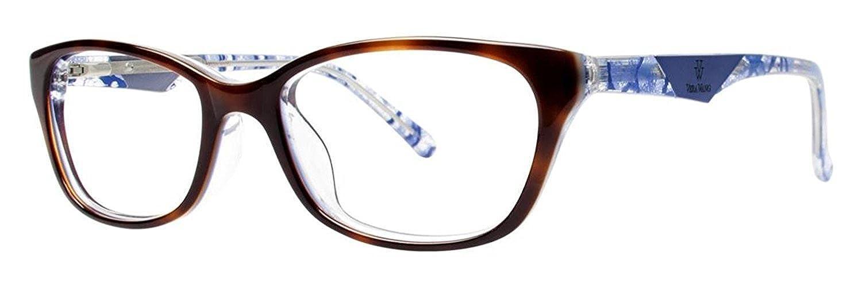 VERA WANG Eyeglasses VA06 Tortoise 53MM