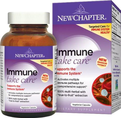 New Chapter immunitaire prendre des comprimés de soins, 30 Count