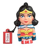 Tribe DC Comics Warner Bros. Pendrive Figure 16 GB Funny USB Flash Drive 2.0, Keyholder Key Ring, Wonder Woman (FD031503)