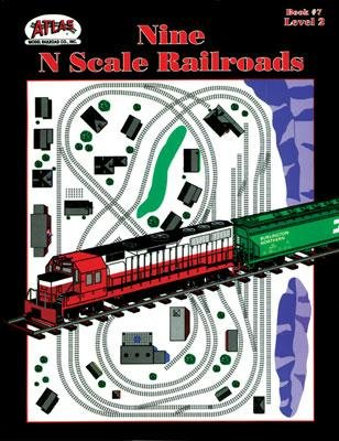 Nine N Scale Layouts Railroad Book; ATL7 for sale  Delivered anywhere in USA
