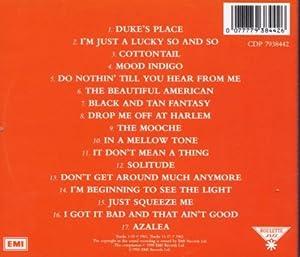The Complete Louis Armstrong & Duke Ellington Sessions
