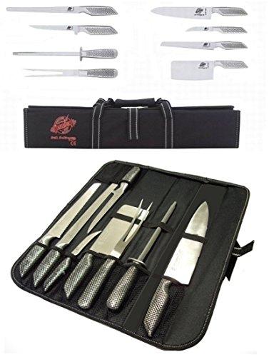 Coltelli/Coltello da cucina professionali in acciaio inox set 8 ...