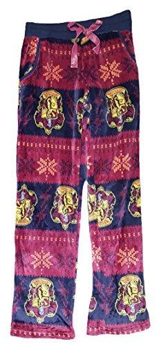 Harry Potter Gryffindor Crest Navy Fleece Sleep Pants - X-Large (Harry Potter Pants)