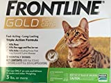 Product review for Frontline Gold 3 Dose Cats over 3lbs
