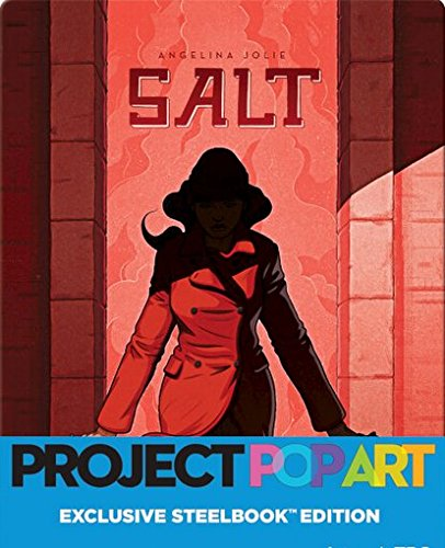 Salt: Deluxe Unrated Edition | Project Pop Art Limited Edition Steelbook (Blu Ray + Digital HD)