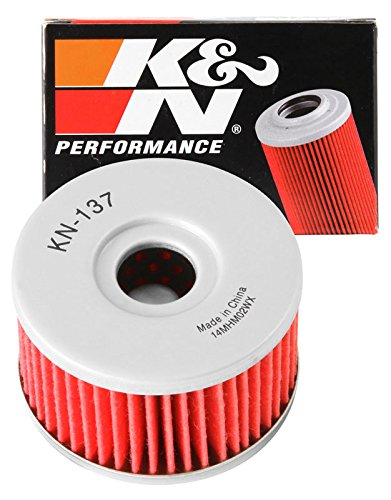 KN-137 K&N Performance Oil Filter; POWERSPORTS CARTRIDGE (Powersports Oil Filters):