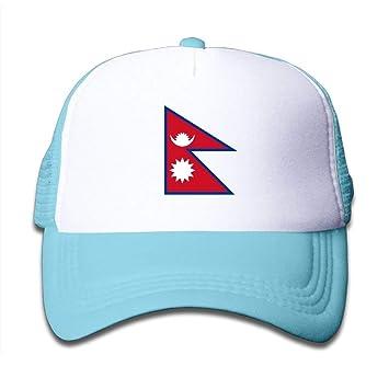 Amazon.com: Yutrepler Flag Map of Nepal Mesh Baseball Cap Kid Boys ...