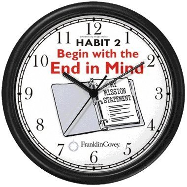 Amazon Com Habit 2 Begin With The End In Mind English