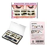 2D and 3D Magnetic Eyelashes [No Glue] Reusable Premium Quality False Eyelashes Set