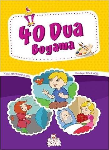 40 Dua Boyama 2000 200 Cmsayfa Sayisi 96 Amazonde Hayrünnisa