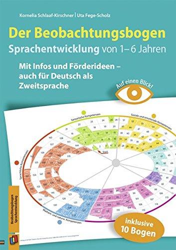 Auf einen Blick! – Der Beobachtungsbogen Sprachentwicklung von 1–6 Jahren: Mit Infos und Förderideen – auch für Deutsch als Zweitsprache