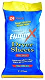 Code Blue EliminX Dryer Sheets 24-Count Unscented