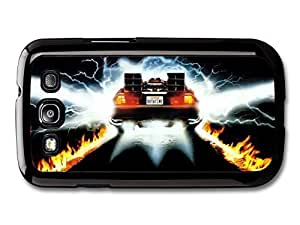AMAF ? Accessories Back To The Future Movie Delorian Plate Out At Time case for Samsung Galaxy S3