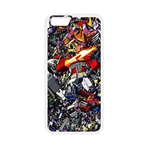 iPhone 6 4.7 Inch Cell Phone Case White Transformers Collage VIU092284