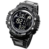 [LAD Weather] Military Watch/Stopwatch/Pacer Function watch/Outdoor/100m Water Resistant Men's Watch