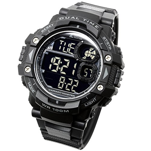 [LAD Weather] Military Watch/Stopwatch/Pacer Function watch/Outdoor/100m Water Resistant Men's Watch by LAD WEATHER