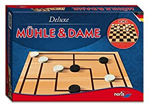 Deluxe - Mühle & Dame: 2 Spieler