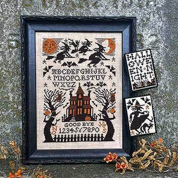 Witching Hour Cross Stitch Chart -