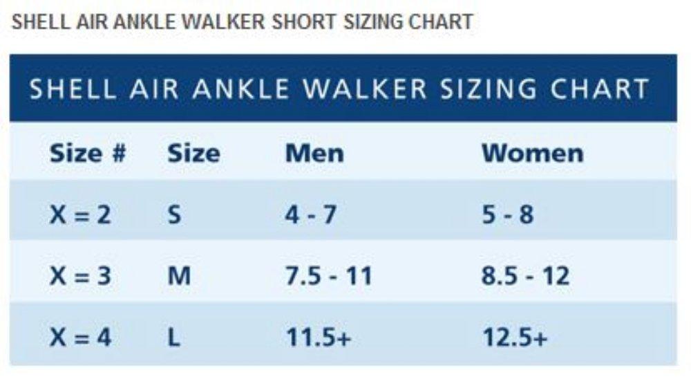 Shell Air Ankle Cast Walker Tall, Medium