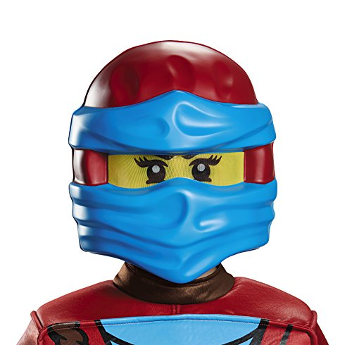 Ninjago Nya Halloween Costumes (Disguise NYA Ninjago Lego Mask, One Size)