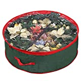 Primode Wreath Storage Bag with Clear Window 36