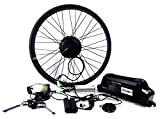 26x4.0 New Electric Fat Tire Bike Beach Snow Bicycle E-bike, Electric Bike Fat Tire Rear Motor Conversion Kit, 48V 500W Geared Hub Motor Conversion Kit with Lithium Battery and LCD Display