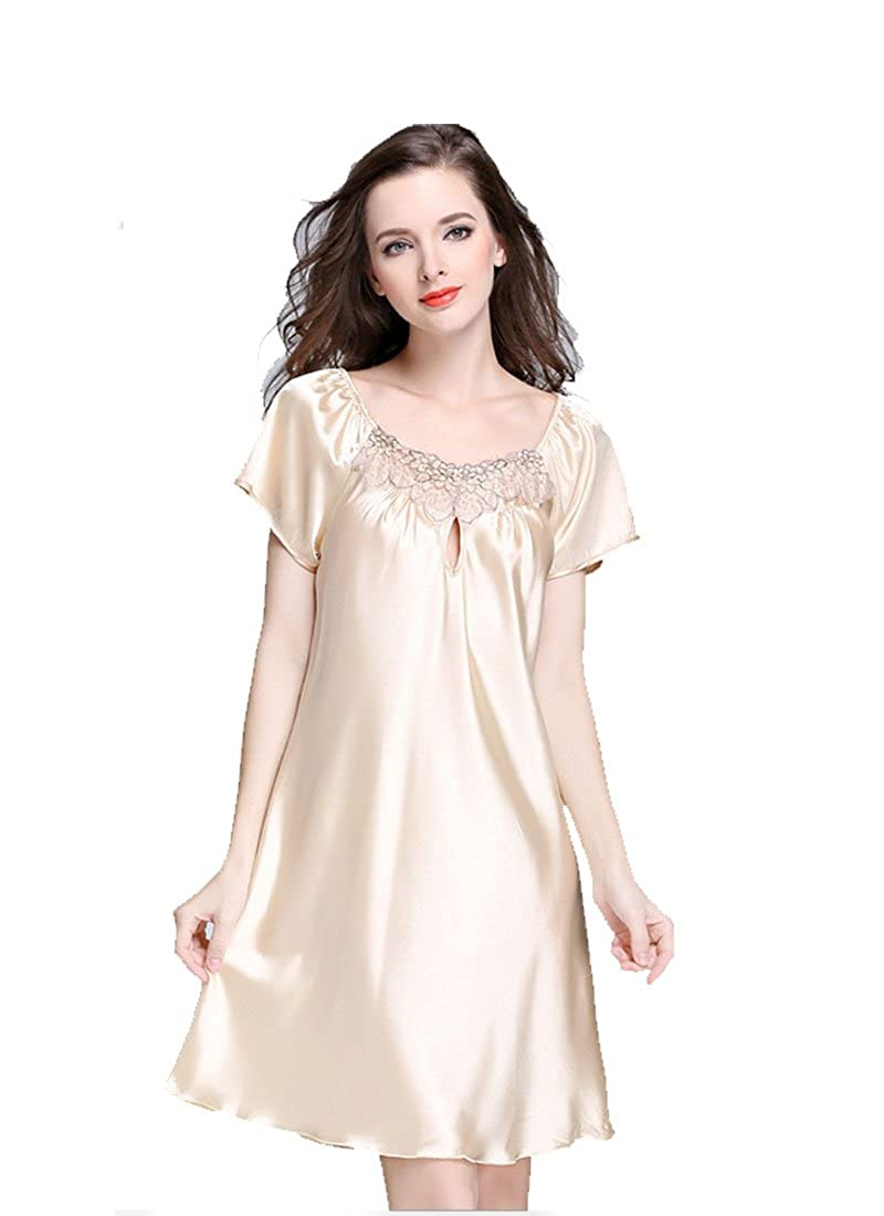 King Star Women Nightwear Long Flutter-Sleeve Nightgown Sleepwear at Amazon  Women s Clothing store  ef6e36c37