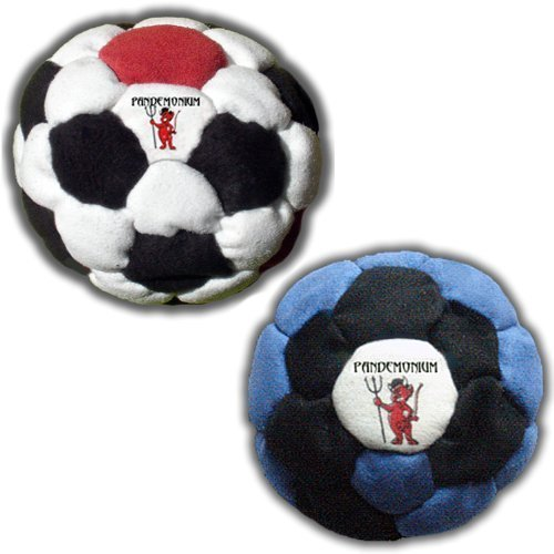 Starter Pack Vortex + Corrosion set of 2 Footbags 32 + 44 Panels Hacky Sack Intermediate Bags Sand Filled Weighted At 2.1 Once Footbag by Pandemonium Footbag