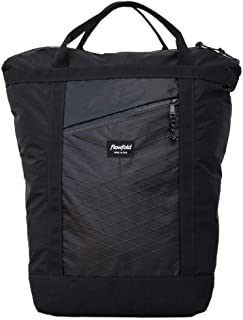 product image for Flowfold Denizen 14L Minimalist Commuter Backpack - Ultralight Tote Backpack, Water-Resistant, Made in USA Laptop Backpack (Jet Black)