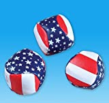 2'' STARS AND STRIPES FOOTBAG, Case of 288
