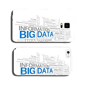 BIG DATA Tag Cloud (information technology storage server) cell phone cover case Samsung S6